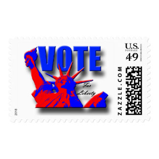Vote for Liberty Stamp