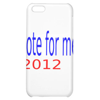 vote for me 2012 cover for iPhone 5C