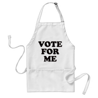 Vote For Me! Adult Apron