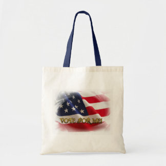 Vote for me canvas bag
