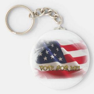 Vote for me keychain