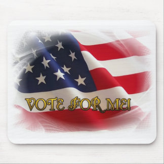 Vote for me mouse pad