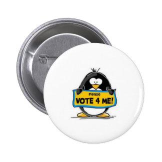 Vote for Me! Pinback Button