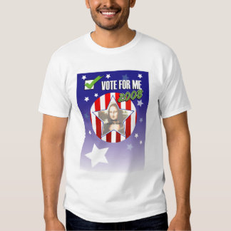 """Vote for """"ME"""" Shirt - Upload your own photo"""