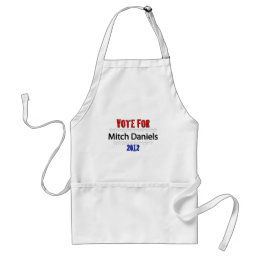 Vote for Mitch Daniels in 2012 Adult Apron