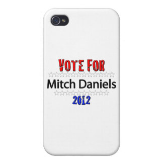 Vote for Mitch Daniels in 2012 Cover For iPhone 4