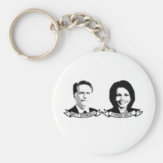 VOTE FOR MITT AND CONDI png Keychains