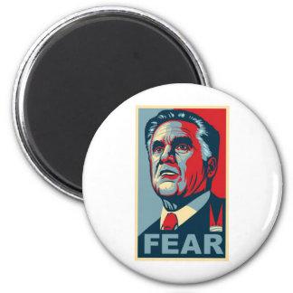 Vote for Mitt Romney - Vote for FEAR 2 Inch Round Magnet