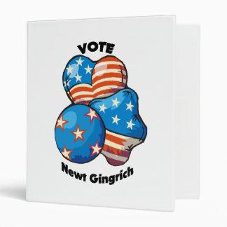 Vote for Newt Gingrich Binder