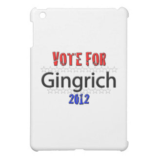 Vote for Newt Gingrich in 2012 iPad Mini Case