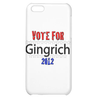 Vote for Newt Gingrich in 2012 iPhone 5C Covers