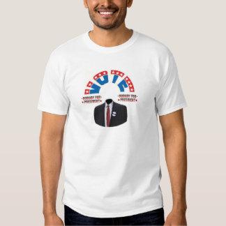 Vote for NOBODY T-Shirt
