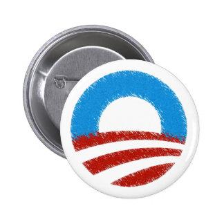 VOTE FOR OBAMA 2012 BUTTON