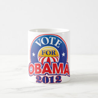 Vote for Obama 2012 Coffee Mug