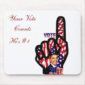 Vote for Obama #2_ Mouse Pad