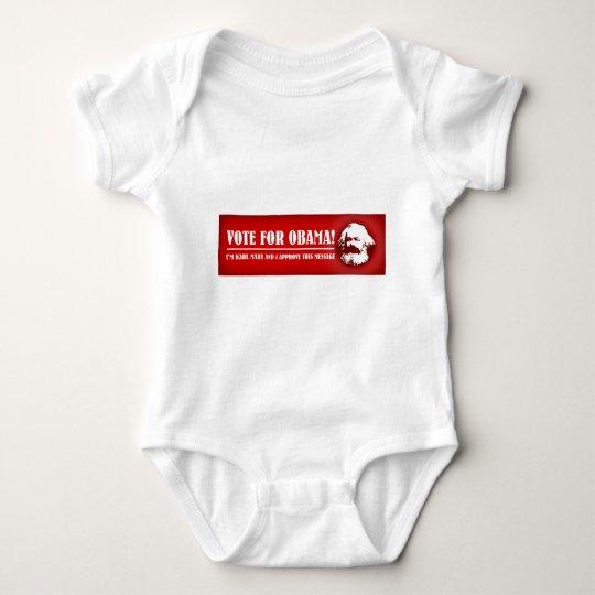 Vote for Obama! Baby Bodysuit