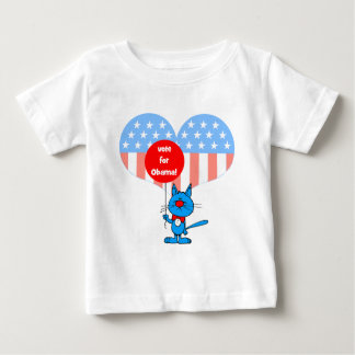 vote for Obama! Baby T-Shirt