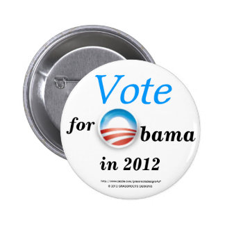 Vote for Obama in 2012 Canvassing and Action Button