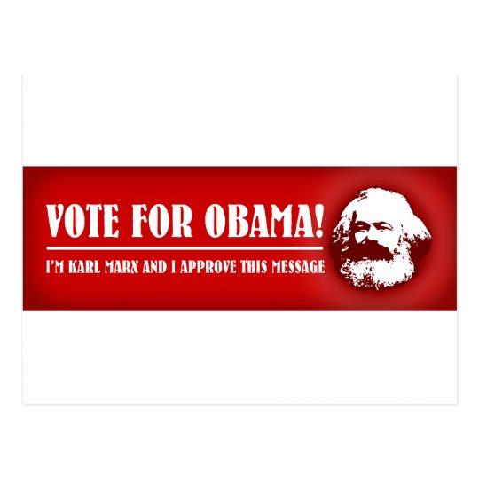 Vote for Obama! Postcard