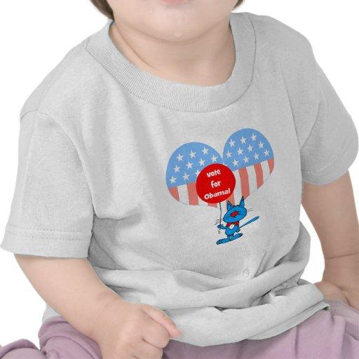vote for Obama! Shirt