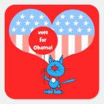 vote for Obama! Sticker