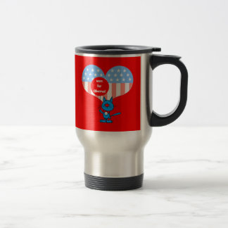 vote for Obama! Travel Mug