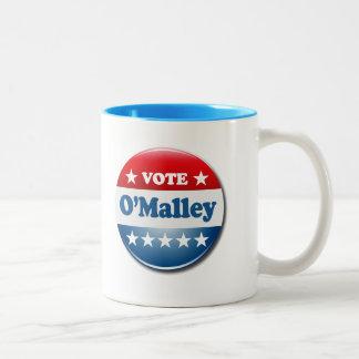 Vote for O'Malley 2016 Two-Tone Coffee Mug
