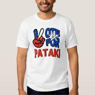 VOTE FOR PATAKI T SHIRTS