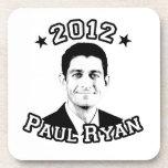 VOTE FOR PAUL RYAN 2012 BEVERAGE COASTER