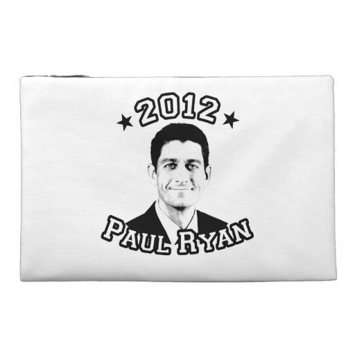 VOTE FOR PAUL RYAN 2012 TRAVEL ACCESSORIES BAGS