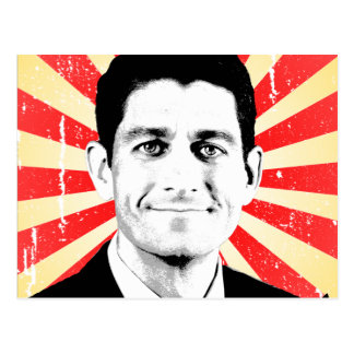 VOTE FOR PAUL RYAN.png Postcard