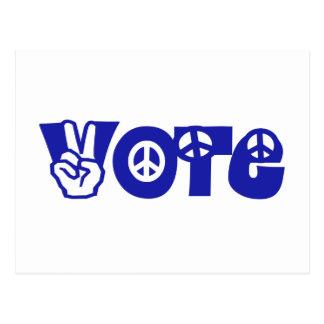 Vote For Peace Postcard