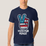 Vote For Peace Ron Paul Shirt