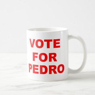 Vote For Pedro Coffee Mug