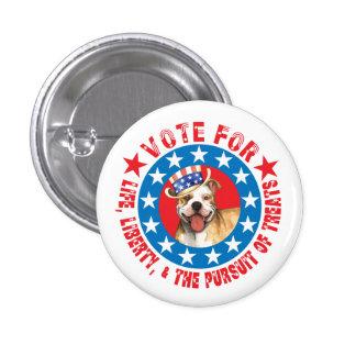 Vote for Pit Bull Pinback Button