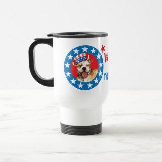 Vote for Pit Bull Travel Mug