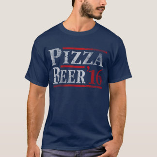 Vote for Pizza and Beer 2016 Election T-Shirt