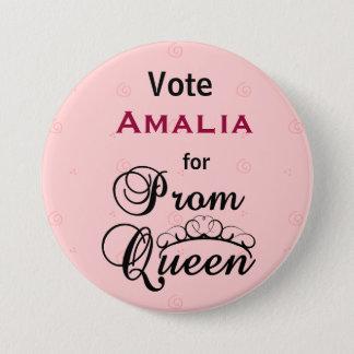 Vote for Prom Queen Pinback Button