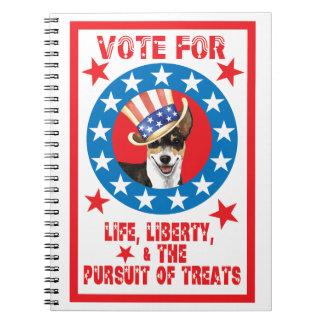 Vote for Rattie Notebook