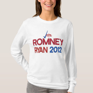 Vote for Romney Ryan 2012 T-Shirt
