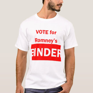 Vote for Romney's Binder T-Shirt
