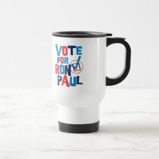 Vote For Ron Paul Election 2012 15 Oz Stainless Steel Travel Mug
