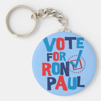 Vote For Ron Paul Election 2012 Key Chain