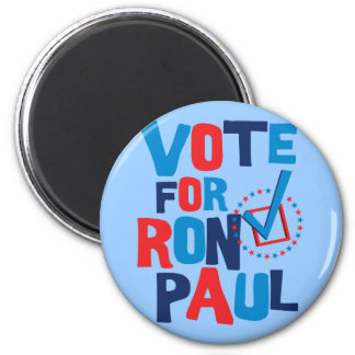 Vote For Ron Paul Election 2012 Refrigerator Magnet