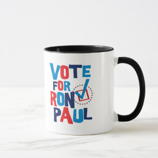 Vote For Ron Paul Election 2012 Mug