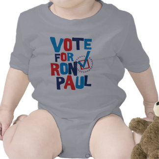 Vote For Ron Paul Election 2012 Baby Creeper