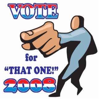 vote for that one 2008 photo sculpture button