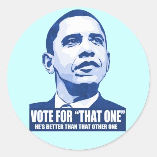 Vote for that one Sticker