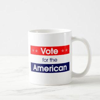 Vote for the American - Romney - President - Obama Classic White Coffee Mug