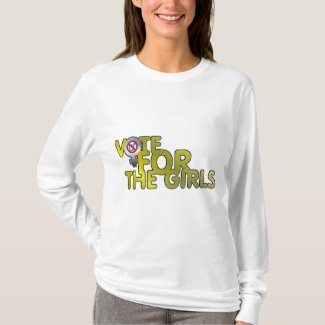Vote for the Girls Long Sleeve T-Shirt